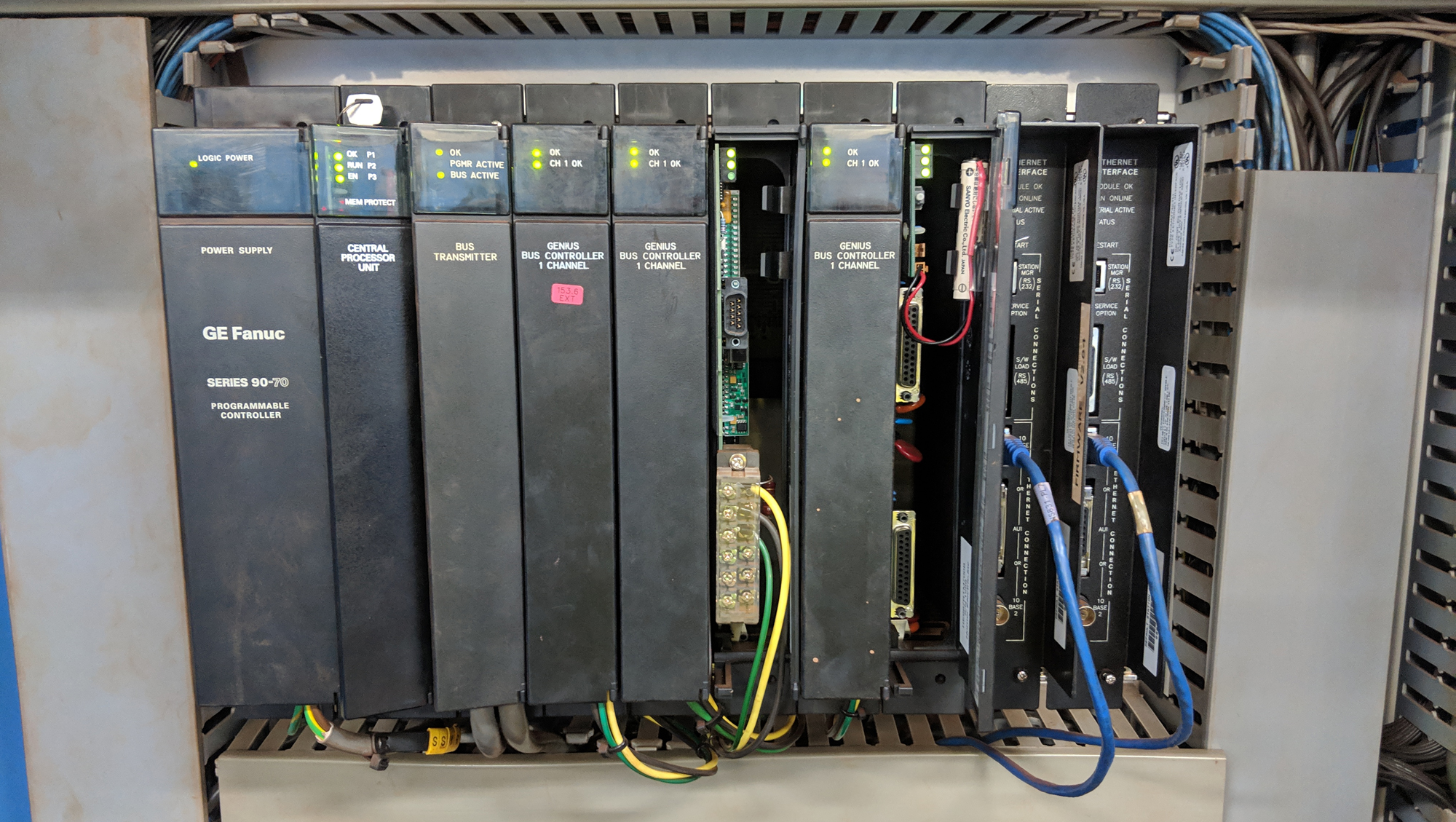PLC Upgrade